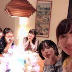 【つばきファクトリー】ハロプロ研修生20期メンバー(山木新沼段原羽賀船木)で食事会開催!!!!!!!!!!!!!!!!!