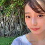【女子アナ】【芸能】宇垣美里、タイでの撮影オフショット披露も 仏頭の前で撮影した1枚にフォロワーからマナー違反を指摘される「ヤバいっすよ」