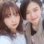 【BEYOOOOONDS】稲場愛香と平井美葉が2人で食事に行って幸せな金曜日を過ごす