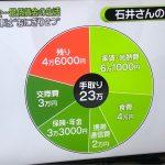 【VIP・なんj】【悲報】テレビ局「33歳男性手取り23万円最低賃金生活者の支出内訳」