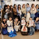 【アンジュルム】蒼井優さんと菊池亜希子さんもアンジュルムかななん卒コンを見にきたよ〜〜〜!!!!!!