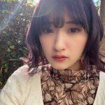 【アンジュルム】川村かわむー、髪の毛を紫に染める
