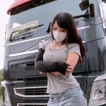 【その他】【画像】えちえちすぎるトラックの運ちゃんww