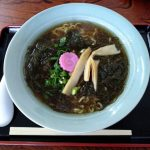 日本最北端の食堂の「もずくラーメン(1200円)」wwwxwwwxwww