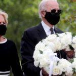 【アメリカ】【画像】黒マスクを着用したバイデン米大統領候補、2ヶ月ぶりに姿を現す