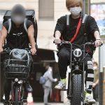 【タレント】【朗報】NEWS手越、なんかすげー自転車で弁当配布ボランティア