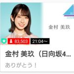 【金村美玖】TOP人気 金村美玖さんshowroom 8.5万人