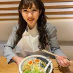 【アンジュルム】川村文乃「中学三年生の頃は、毎日のように家系ラーメンごはんとセットで食べてました」