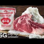 【VIP・なんj】アメリカ人、ステーキ肉を1kgの味の素で包んで熟成させてしまう