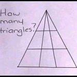 【画像】アメリカ人、このイラストの三角の数で喧嘩をしてしまうwwww