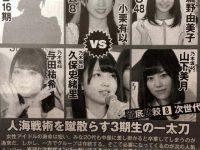 雑誌「乃木坂とAKBの若手を比べてみた結果wwwwwwwwwwwwww」【AKB48】