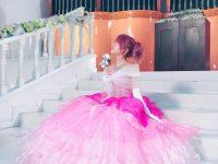 【LoVendoЯ】ピンクのドレス姿の田中れいなちゃん(28)がまさにお姫さま!!