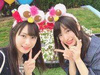 【NMB48ニュース】久保怜音と梅山恋和が仲良く一緒にUSJへ