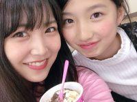 【白間美瑠】白間 美瑠 @shiromiru36:可愛い可愛い、、けいと、、、😳昨日は、わらび餅食べてたら、後ろからギュってしてくれて、、、