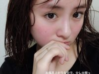 【Berryz工房】【超速報!】お風呂上りのすっぴん菅谷梨沙子さんが天使過ぎるお知らせwwwwwwwww