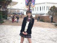 【女の子】【画像】ミス慶應候補の小田安珠さん(文学部2年)、高校の制服を着る ミニスカで可愛すぎと話題