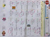 【Twitter】漢字テストで全て正解し100点? かと思いきや16点 書道なみの厳しい採点が酷すぎる