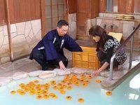 【VIPネタ】【画像】入浴中のお柿ちゃん達を晒すわ…